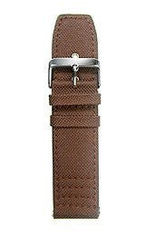 HydrOlix Interchangeable Brown Web Fabric strap #XA00233