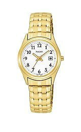 Pulsar by Seiko Gold-Tone Stainless Steel Womens watch #PXT586