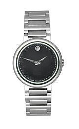 Movado Concerto Black Museum Dial Womens watch #606419