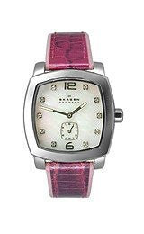 Skagens Womens Leather watch #N556SSLY8