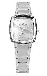 Skagen 3-Hand with Glitz Womens watch #657SSSX