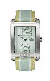 Lacoste Andorra Grosgrain - Yellow/Grey Womens watch #2000694