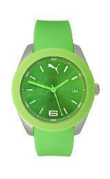 Puma Grip 3HD - S Green Womens watch #PU102712001