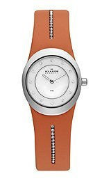 Skagen Steel Collection Mother-of-Pearl Dial Womens Watch #564XSSLO