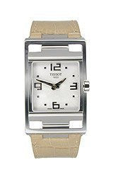 Tissot My-T Light Brown Leather Silver Dial Womens Watch #T032.309.16.037.00