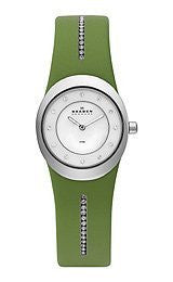Skagen Steel Collection Mother-of-Pearl Dial Womens Watch #564XSSLGR