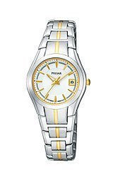 Pulsar by Seiko Two-Tone Stainless Steel Womens watch #PXT837