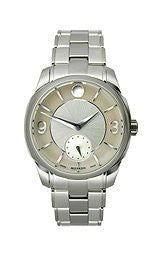 Movado LX Stainless Steel with Sub-Seconds Womens watch #0606618