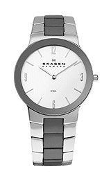 Skagen Two-Hand Two-tone Stainless Steel Mens watch #430MSMXM