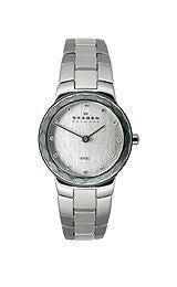 Skagen Klassik Two-Hand Stainless Steel Womens watch #C431SSXD