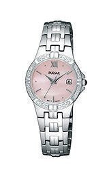 Pulsar by Seiko Three-Hand Stainless Steel Womens watch #PXT703