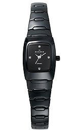 Skagen Ceramic Bracelet Black Dial Womens watch #814XSBXC1