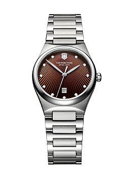 Victorinox Swiss Army Victoria Brown Dial Womens Watch #241522