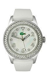 Lacoste Club Collection White Mother-of-Pearl Dial Womens Watch #2000647