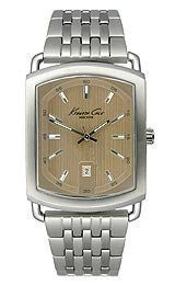 Kenneth Cole New York Classic Brown Dial Mens watch #KC3934