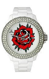 Toy Watch Tattoo Color - Rose White Unisex watch #TF10WH