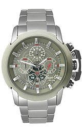 Kenneth Cole New York Chrono Silver Dial Mens watch #KC3830