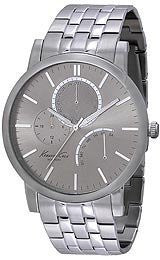 Kenneth Cole New York Slim Multifunction with Silver Link Strap Mens watch #KC9237