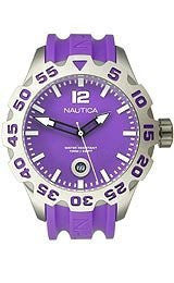 Nautica BFD 100 3-Hand Analog with Date Mens watch #N14606G