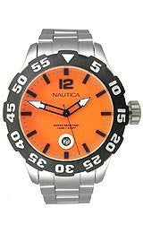 Nautica BFD 100 Stainless Steel Mens watch #N18623G