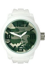 Kenneth Cole Reaction Silicone - White Mens watch #RK1366