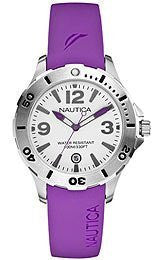 Nautica BFD 101 Resin Strap Womens watch #N11551M