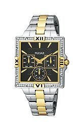 Pulsar by Seiko Multifunction Two-tone Womens watch #PYR046