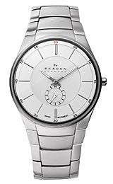 Skagen Classic with an Edge Silver Dial Mens watch #924XLSXS