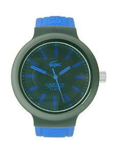 Lacoste Borneo Three-Hand Blue Silicone Mens watch #2010815