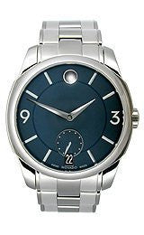Movado LX Stainless Steel with Sub-Seconds Mens watch #0606626