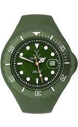 Toy Watch Jelly - Hunter Green Unisex watch #JTB20HG