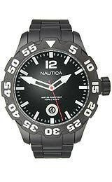 Nautica BFD 100 Black Dial Mens watch #N20095G
