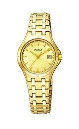 Pulsar Dress Collection Champagne Dial Womens watch #PXT830