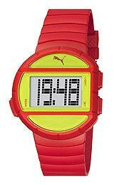Puma Half-Time Digital Yellow Dial Womens watch #PU910892006