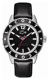 Lacoste Club Collection Black Dial Womens Watch #2000671