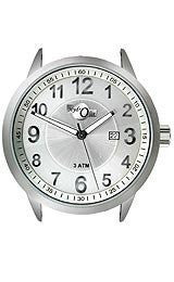 HydrOlix Analog 3-Hand with Date Solid Stainless Steel case #XA00226