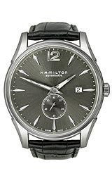 Hamilton Jazzmaster Slim Small Second Automatic Gunmetal Dial Mens watch #H38655785