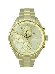 Lacoste Philadelphia Multifunction Gold-Tone Stainless Steel Womens watch #2000866
