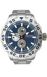 Nautica Multifunction BFD 100 Marine Blue Dial Mens watch #N20093G
