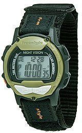 Freestyle Predator Black Nylon Digital Grey Dial Unisex Watch #103317