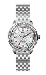 Bulova Precisionist Brightwater Mother-of-pearl Dial Womens watch #96R153