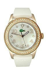 Lacoste Club Collection White Mother-of-Pearl Dial Womens Watch #2000648