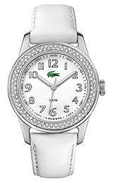 Lacoste Sport Collection Advantage Crystals White Dial Womens watch #2000464