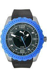 Puma Cross - Black Blue Analog Mens watch #PU103091004