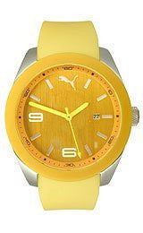 Puma Grip - L Yellow Mens watch #PU102701004