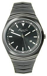 Kenneth Cole New York Bracelet Black Dial Mens watch #KC9063