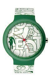 Lacoste Goa Silicone - White/Green Unisex watch #2020066