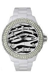 Toy Watch Safari - Zebra White Unisex watch #TS05WH