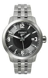 Tissot PRC 200 Black Quartz Sport Mens watch #T055.410.11.057.00