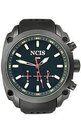 U.S.Agency NCIS - Black with Silicone Band Mens watch #NCISBLACK